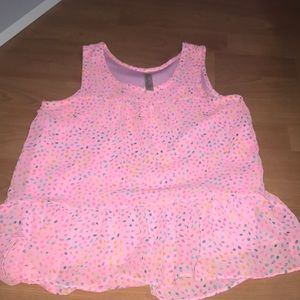 Pink blouse!